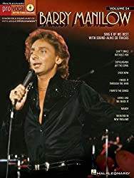 Pro Vocal For Male Singers Volume 54 Barry Manilow + Cd