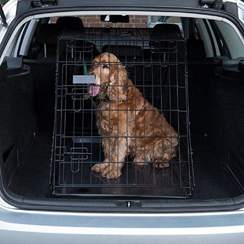 Ruby Jaula inclinada para perros (tamaño grande)