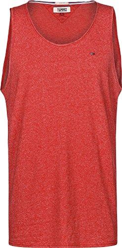 Tommy Hilfiger Herren TJM Essential Tank Top T-Shirt, Racing Red, S