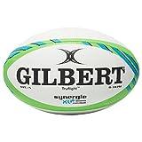 Gilbert Mixte Synergie XV-6Sevens Ballon de Match, Multicolore, Taille 5