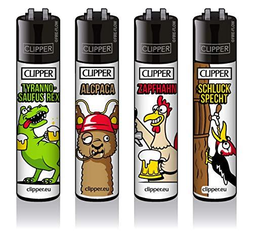 Clipper© Classic - Bier #2 4er Set - inkl. exkl. CKS Filtertip