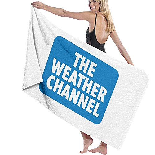 DSSYEAH Toalla De Baño, 80X130 Cm The Weather Channel Toallas De Baño Toallas De Baño De Playa Súper Absorbentes para Gimnasio Playa SWM SPA