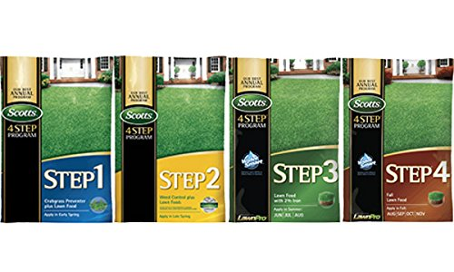 Scotts Complete 4 Step Program - 15,000 Sq. Ft.