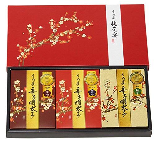 【うめ屋】梅花宴三味セット<モンドセレクション金賞3種詰め合わせ>100g×3箱