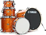 Yamaha Stage Custom Birch 5pc Drum Shell Pack - 22' Kick, Honey Amber