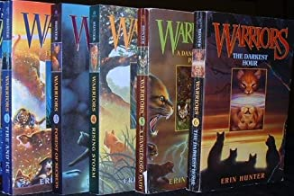 Warriors Volumes 2-6 (Fire and Ice, Forest of Secrets, Rising Storm, A Dangerous Path, & The Darkest Hour