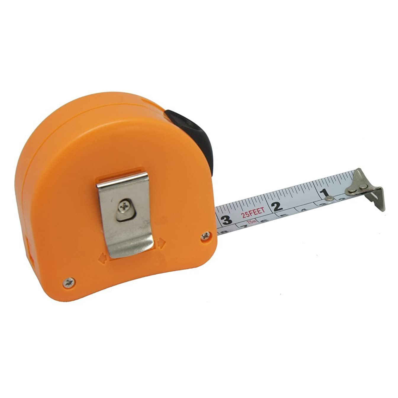 Left Handed Tape Measure with Right-to-left Read, Retractable 25'