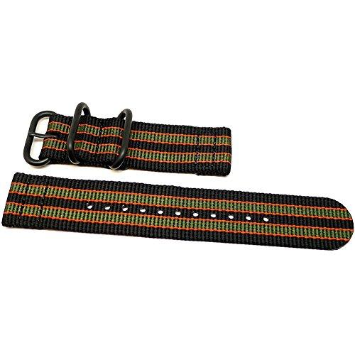 Da Luca, cinturino in due pezzi, in nylon balistico, cinturino Nato del...