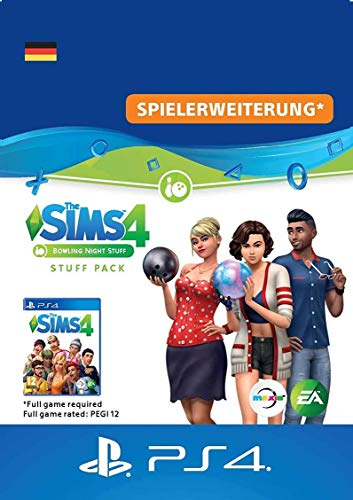 Die Sims 4 - Stuff Pack 10 Bowlingabend | PS4 Download Code - deutsches Konto
