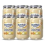 Nutribén Potitos De Plátano, Naranja, Mandarina Y Pera Desde Los 6 Meses Pack de 6 x 235 gr.