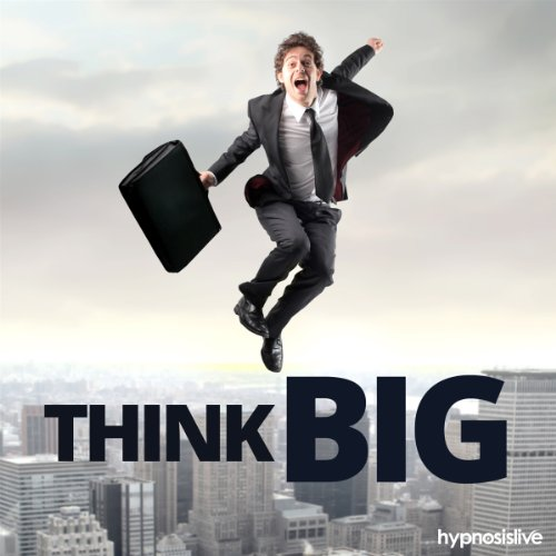 Think Big Hypnosis audiobook cover art