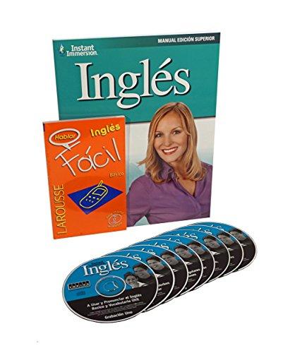 Learn to Speak & Understand INGLES (Spanish to English) Language Deluxe 8 Audio