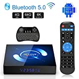 Android 10.0 TV Box 4G RAM 64G ROM Smart Top Box with Mini