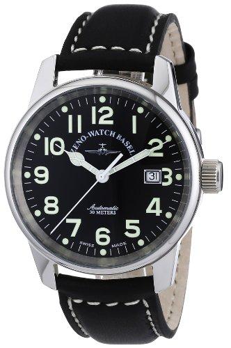 Zeno Watch Basel Pilot Classic 6554-a1- Orologio da uomo