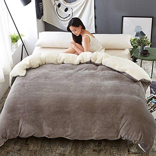 XJ&DD funda cama franela edredon felpa franela de cama funda nordica-A200x230cm(79x91inch)