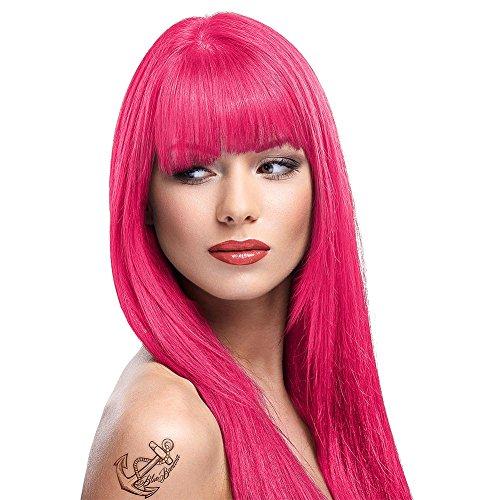 La Riche Directions Semi-Permanente Haarfarbe 88ml (Flamingo Pink) + KOSTENLOSES Blue Banana Sugar Skull Täschchen