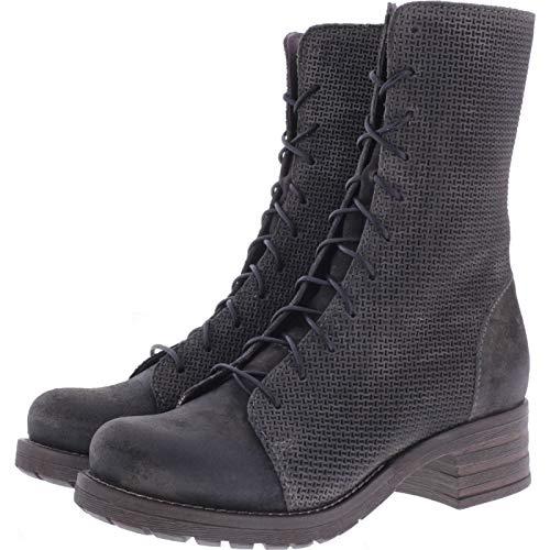 Brako / Modell: Military Tina/Antracita Grau Leder/Stiefel/Art: 8470 / Damen Stiefel (39 EU)