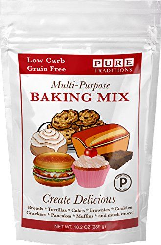 Certified Paleo Multi Purpose Baking Mix - 100% Grain and Gluten Free!