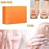 DHHSUK Kojisäureseife, Hautbleichseife, Aufhellende Gesichtsseife, Hyperpigmentierungsbehandlung...
