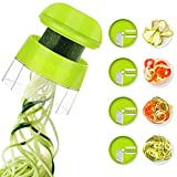 Best Spiralizers - 4 in 1 Spiralizer Hand Held Sedhoom Vegetable Review