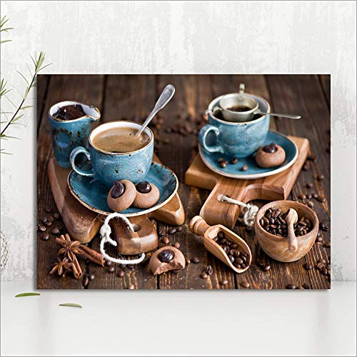 Diy malerei diamant wohnkultur kekse kaffee kreuzstich bild stickmuster volle platz/runde bohrer wandaufkleber r1 40x50 cm (kein rahmen)