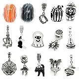 Sexy Sparkles Damen Zehn (10) Random Perlen von Halloween Charm Set für Schlange Kette Armbänder