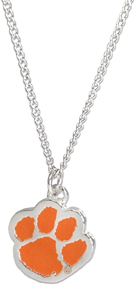 Chicago Mall Fan Frenzy Gifts Ringmasters Ranking TOP4 NCAA Paw Clemson Necklac Tigers