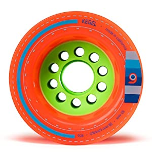 Orangatang Kegel 80mm Longboard Skateboard Wheels for Cruising,Carving