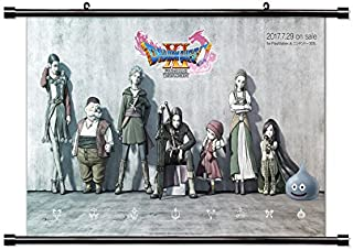 Dragon Quest XI Game Fabric Wall Scroll Poster (32x18) Inches [VG] DragonQuestXI-8(L)