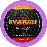 96-count Kenya AA Revival Roaster Gourmet Roasted Coffee for Keurig K Cup Brewers (Keurig 2.0)… (Kenya AA)