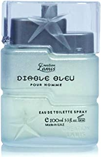 Creation Lamis Eau De Toilette Diable Bleu para hombre 100 ml