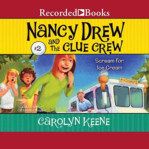 Scream for Ice Cream audiobook cover art