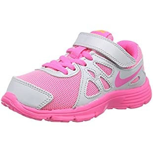 Nike Girls' Revolution 2 PSV Running Shoes Multicolour Size 2 UK