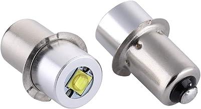 Maglite LED Conversion Kit, DC4-24V LED Flashlight Bulbs Replacement 3W P13.5S LED Conversion for Maglite, Maglite LED Bul...