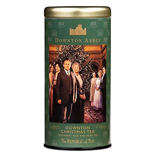 The Republic of Tea Downton Abbey Christmas Tea, 36 Tea Bags, Premium Holiday Tea