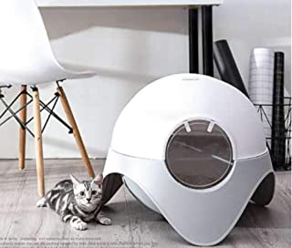 Belvie Pets® cat Litter Box with Free Scoop, Easy Installation, Suitable for Large or Small cat