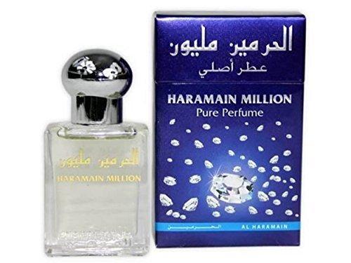 Parfum Al Haramain Million 15ml 100% Huile