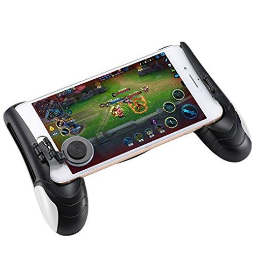 ZARLLE Mobile Game Joystick Player Unknown'S Battlegrounds Eat Chicken Artifact, Controlador De Juego Pubg Joystick MóVil Gamepad Mango De DiseñO ErgonóMico Pubg