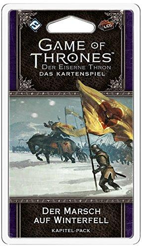 Fantasy Flight Games FFGD2379 GoT: LCG 2 Ed-Der Marsch auf Winterfell Kartenspiel, bunt
