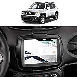 Pellicola protettiva in vetro temperato per Jeep Renegade Uconnect 8,4 pollici, antigraffio, anti-impronte, durezza 9H, anti-dispersione SKTU (8,4 pollici)