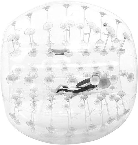 venta caliente en línea DMBHW Bubble Ball Bopper Ball 1 1.2 1.2 1.2 1.5 M Bola de Parachoques Inflable Burbuja de fútbol de Material Transparente Humano Knocker Ball Zorb Ball para Adultos y Niños  Ahorre 60% de descuento y envío rápido a todo el mundo.