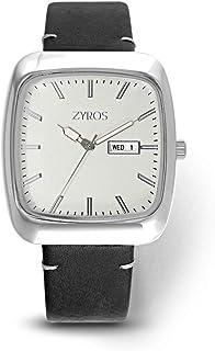 زايروس ساعة رسمية للرجال ، انالوج بعقارب - ZY532M110211