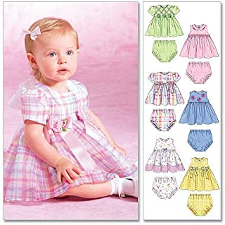 McCall's Patterns M4351 Infants' Dresses and Panties