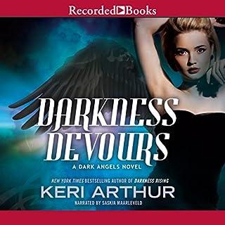Darkness Devours audiobook cover art