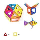 マグハッピー 訳あり 箱なし 14ピース マグネットブロック 磁気おもちゃ 知育玩具 マグフォーマー 磁石付き積み木 14ピース入り 創造力と想像力を育てる知育 玩具 MAGHAPPY