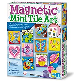 4M 4341 Magnetic Tile Art:Interoot