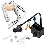 Yingshop CDI Ignition Coil Magneto Stator Coil Kit Fit For 49cc 50cc 60cc 66cc 80cc 2-Stroke Engine Motor Motorized Bicycle Bike