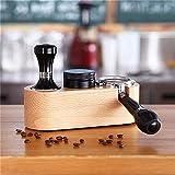 Manuale di Legno Caffè Tamper Pad Barista Speciale Caffè Tamper Proof Latte Art Pen Antiscivolo Accessori Da Caffè Famiglia 51/58mm (Dimensioni: 51mm)