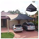 Outdoor Ombrellone Ombra Reticolato della Rete di Impianto Solare Parasole Panno Rete Ombreggiante Copertura Netta Tarp per Piante da Giardino Fiore Coperture per Tetti Shading Barn Kennel Auto
