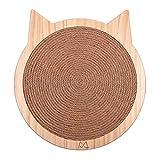 Katzenkratzer Karton Kratzpad Katzenform Kratzpads für Katzen Kätzchen Wand Sisal Kratzbrett mit...
